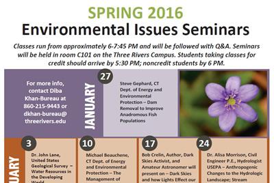 Three Rivers Environmental Issues Seminar 2016