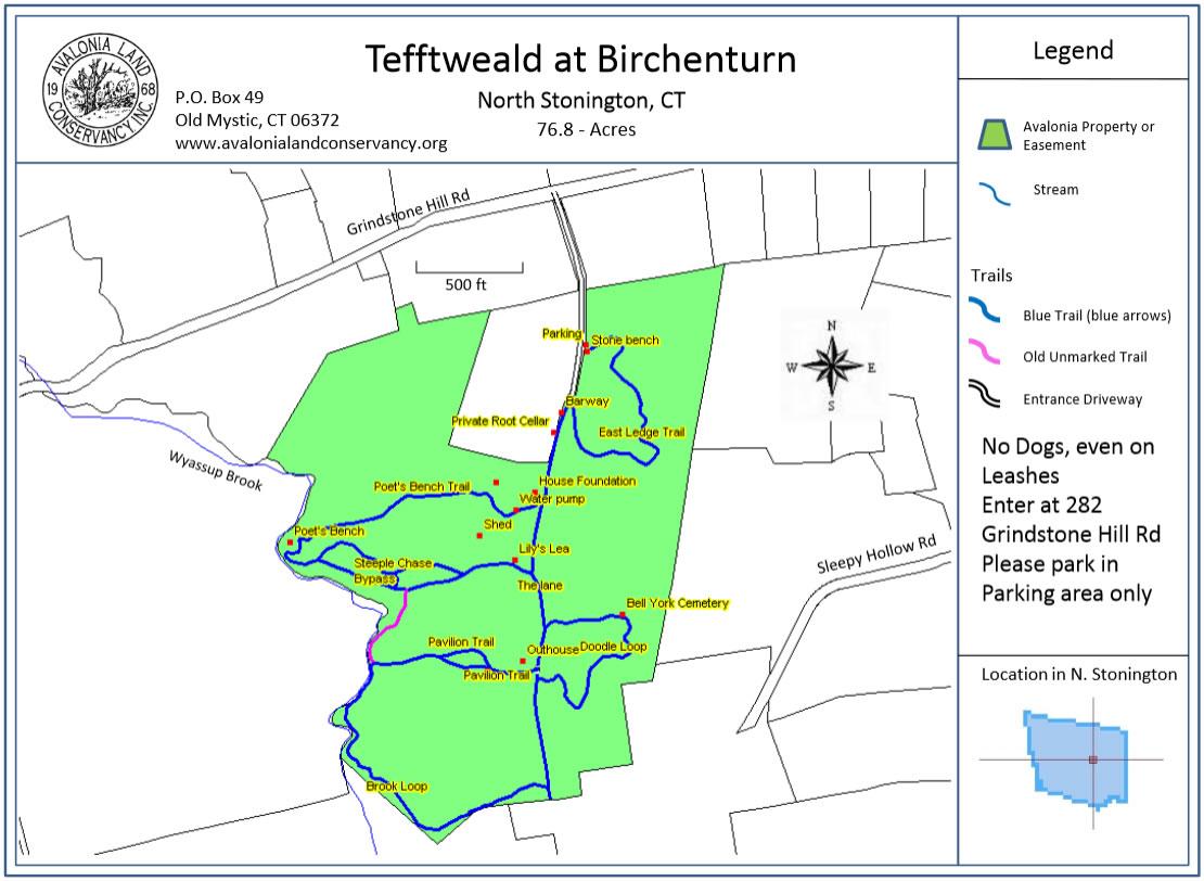 tefftweald-map