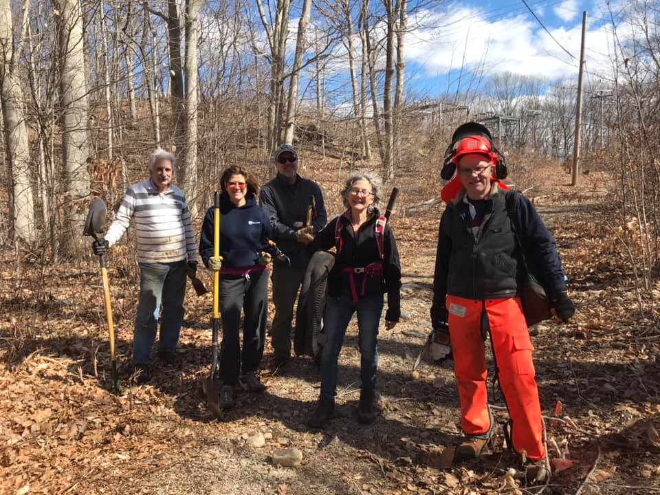 Leo Antonino Preserve Trail Work