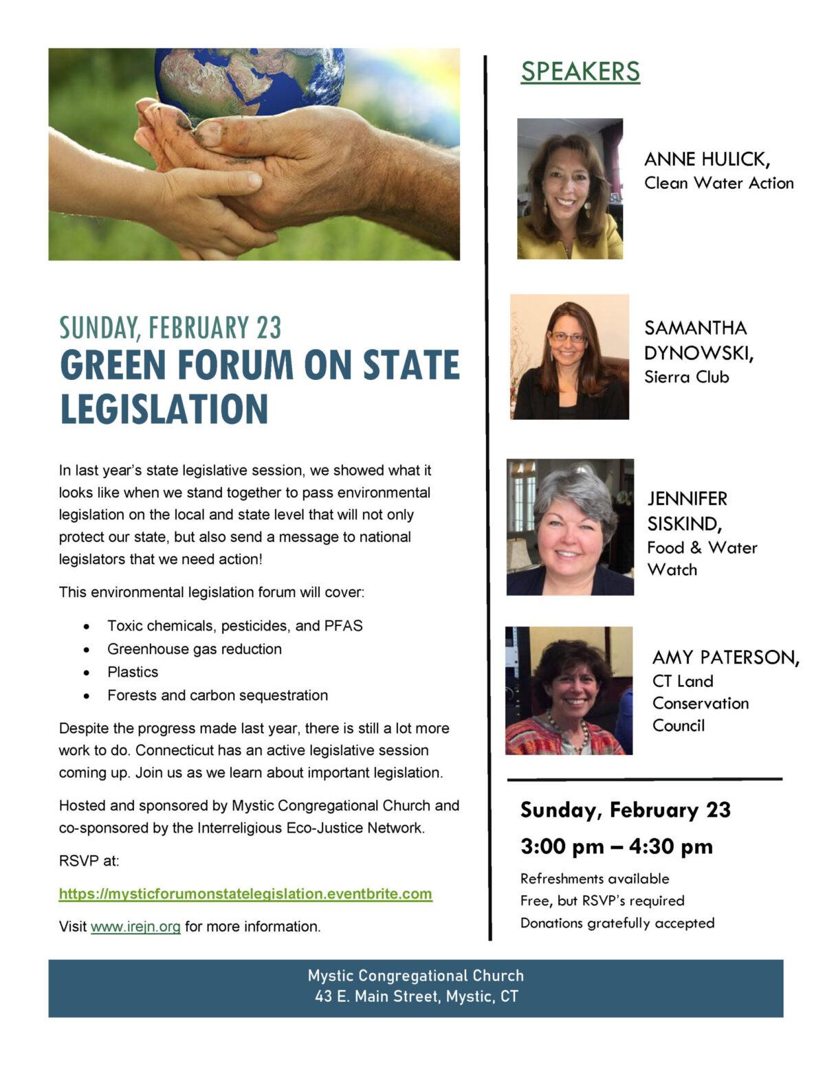 State Legislation -Mystic 2020